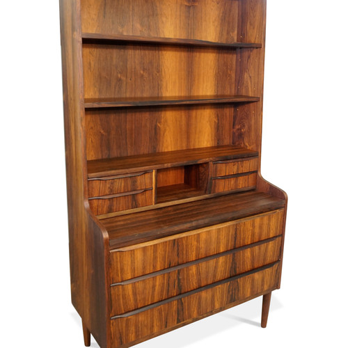 rosewood bookcase secretary mogens