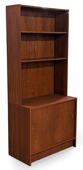 Teak Bookcase - Tre