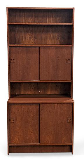 Teak Bookcase - To