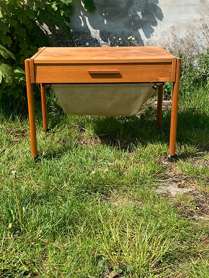 "Teak Sewing Table - ""Sifjar"""