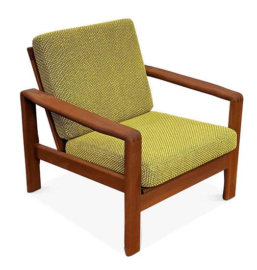 (SOLD) Teak Lounge Chair - Gul