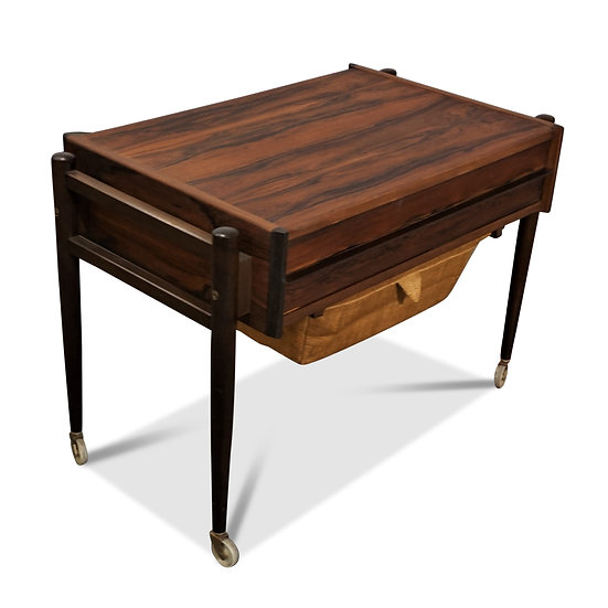 (SOLD) Rosewood Sewing Table - Anemone