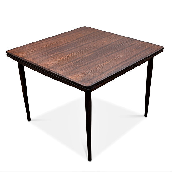 (SOLD) Square Rosewood Dining Table - Cerise