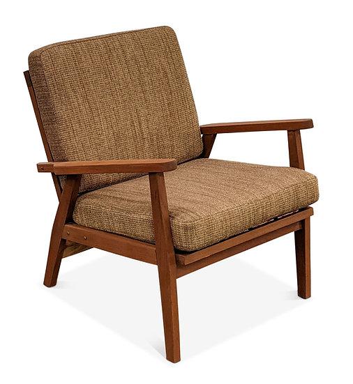 Teak Lounge Chair - Brun