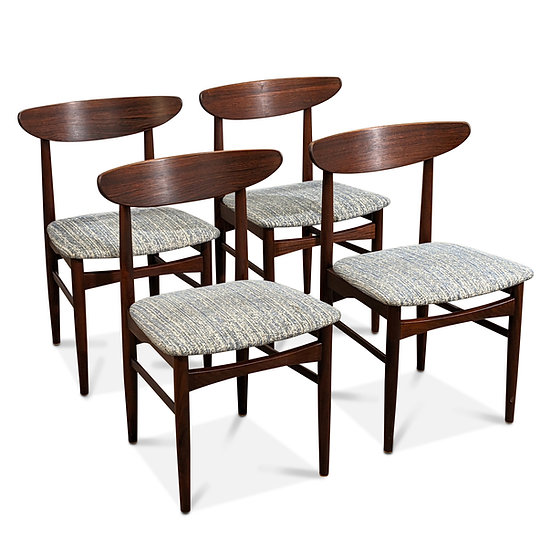 (SOLD) 4 Rosewood Dining Chairs - Henning