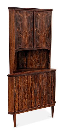 Rosewood Corner Cabinet - Jeppe