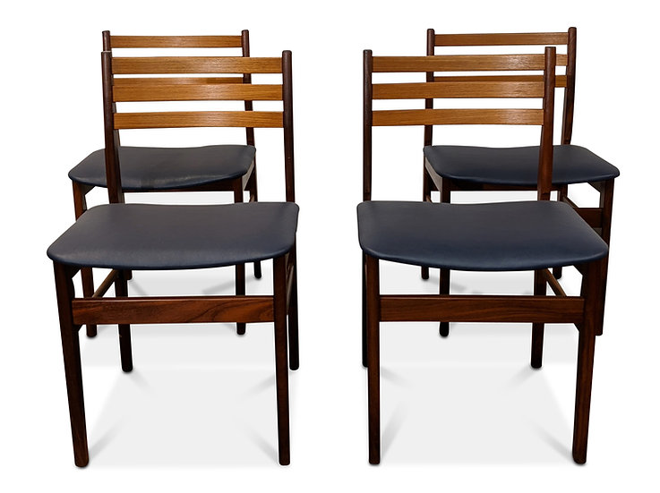 (SOLD) 4 Teak Dining Chairs - Nattergale
