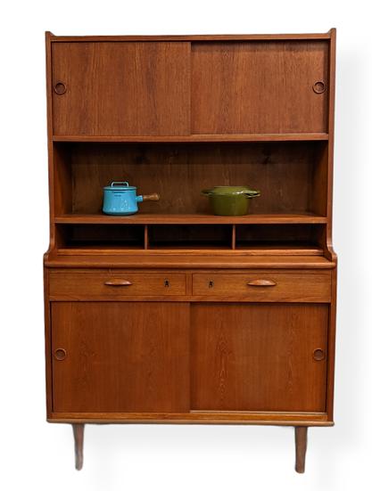 (SOLD) Bookcase / Secretary - Dukkehus