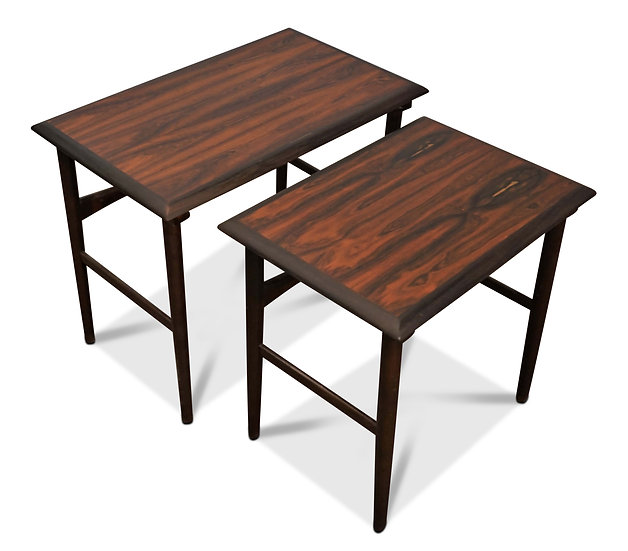 (SOLD) Rosewood Nesting Table - Grenaa