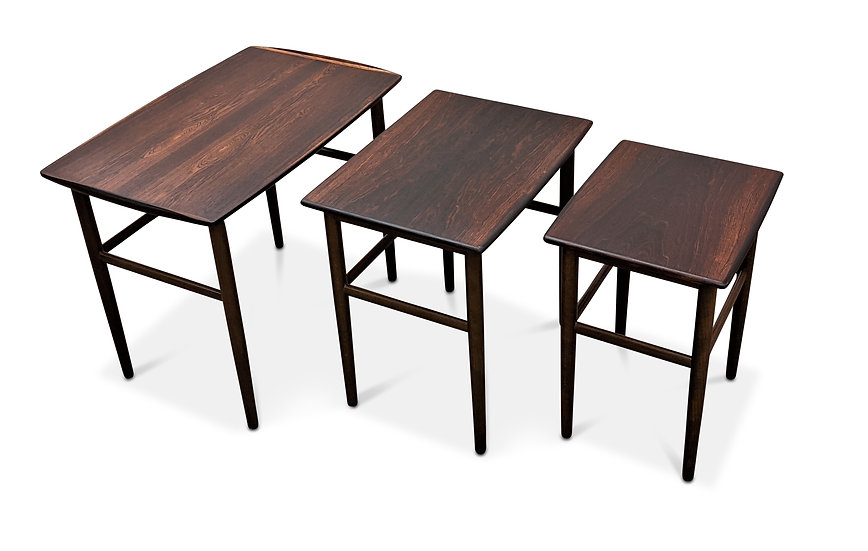 Rosewood Nesting Tables - Brede