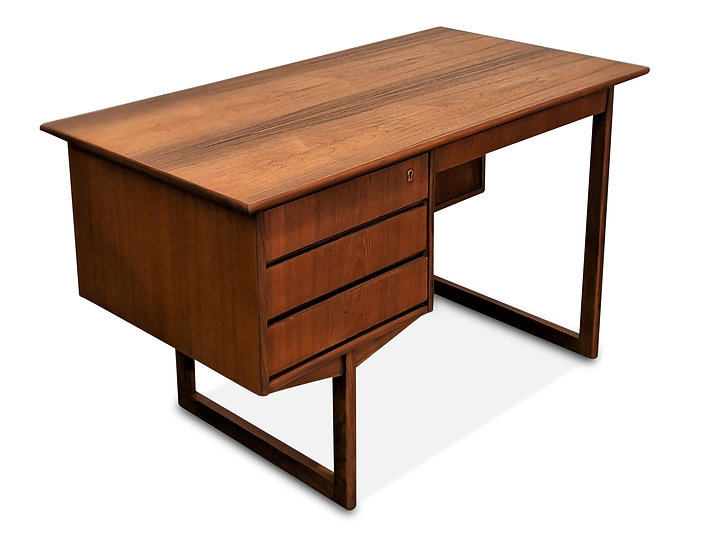 (SOLD) Small Teak Desk - Spand