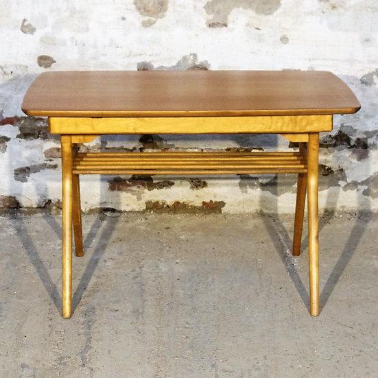 Teak/oak coffee/dining table - Vidi