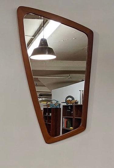 Rare Danish vintage mirror - Kat