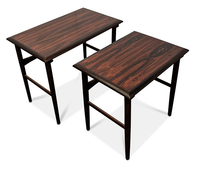 Rosewood Nesting Tables - Brixx