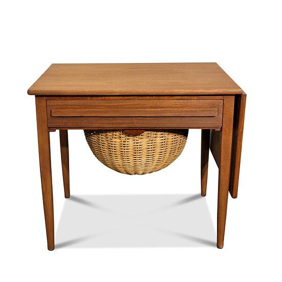 (SOLD) Johannes Andersen Sewing Table - CFC Silkeborg