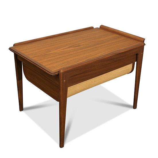 (SOLD) Teak Sewing Table - Purlog