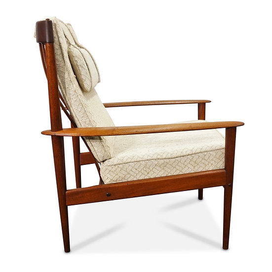 (SOLD) Grete Jalk Lounge chair by Poul Jeppesen
