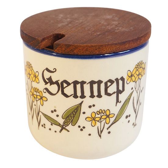 Knabstrup Sennep (mustard) jar