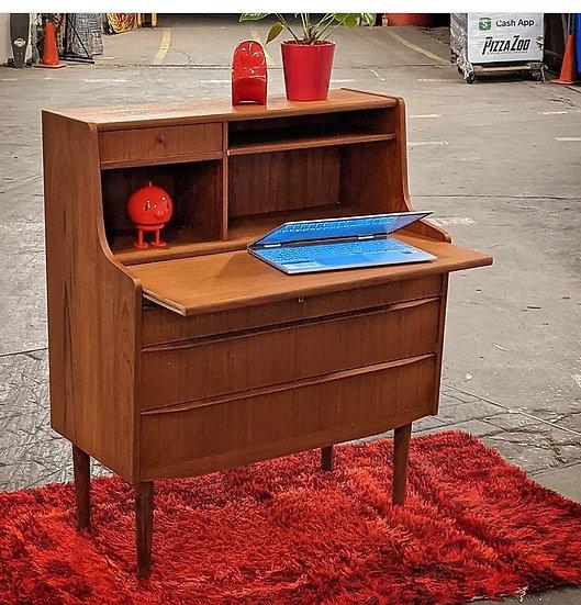 (SOLD) Teak Secretary Desk