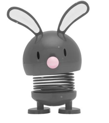 Hoptimist Baby Bunny - Grey