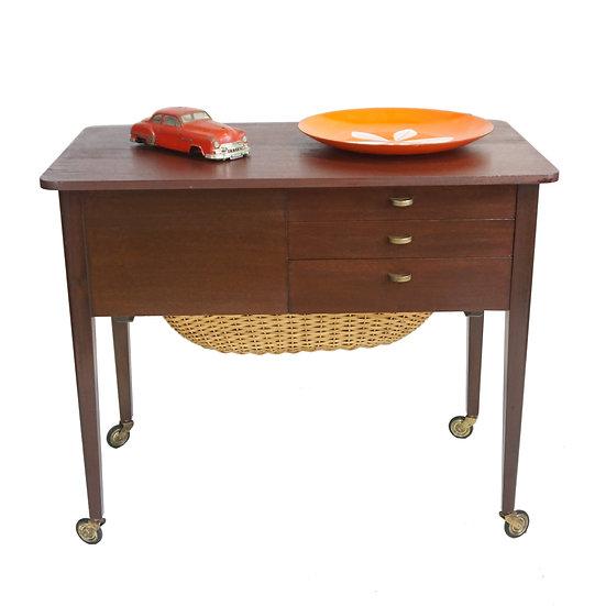 "Sewing Table / Bar Cart - ""Maude"""