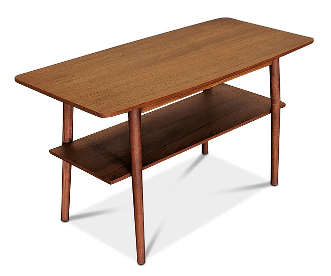 (SOLD) Small Teak Coffee Table - Ulv