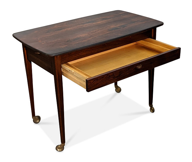 (SOLD) Rosewood Sewing Table - Rio Pali