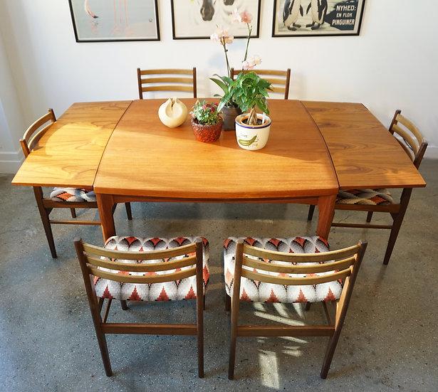 Teak Dining Chairs Danish Furniture Makers Set Of 6