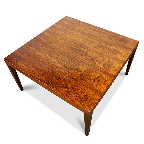 (SOLD) Severin Hansen Jr-Large Rosewood Side/Coffee Table