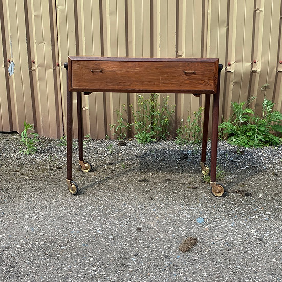 "Rosewood Sewing Table - ""Drengr"""