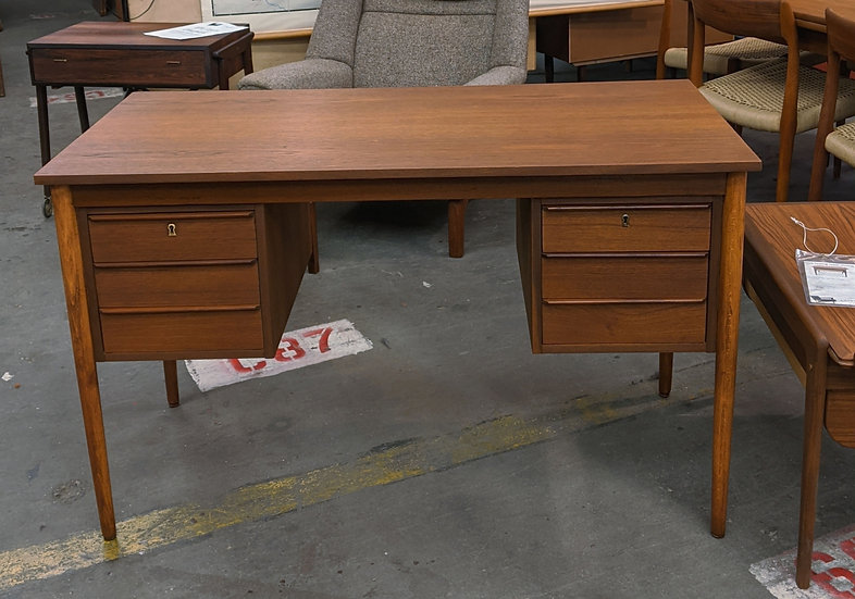 (SOLD) Teak Desk - Mette F