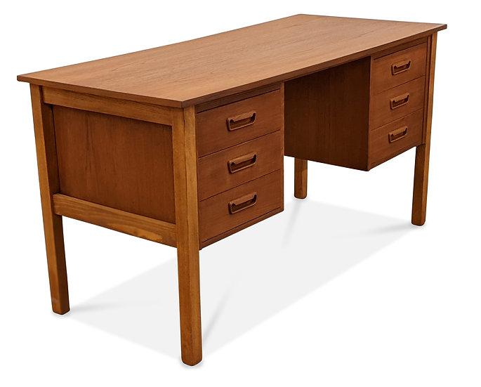 (SOLD) Teak Desk - Sko