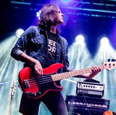 brian weaver bass guitar live