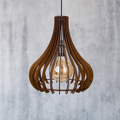 מנורת עץ מודרנית
