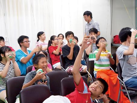 新聞報導:PLAY玩不累的暑假 弱勢家庭兒童營隊