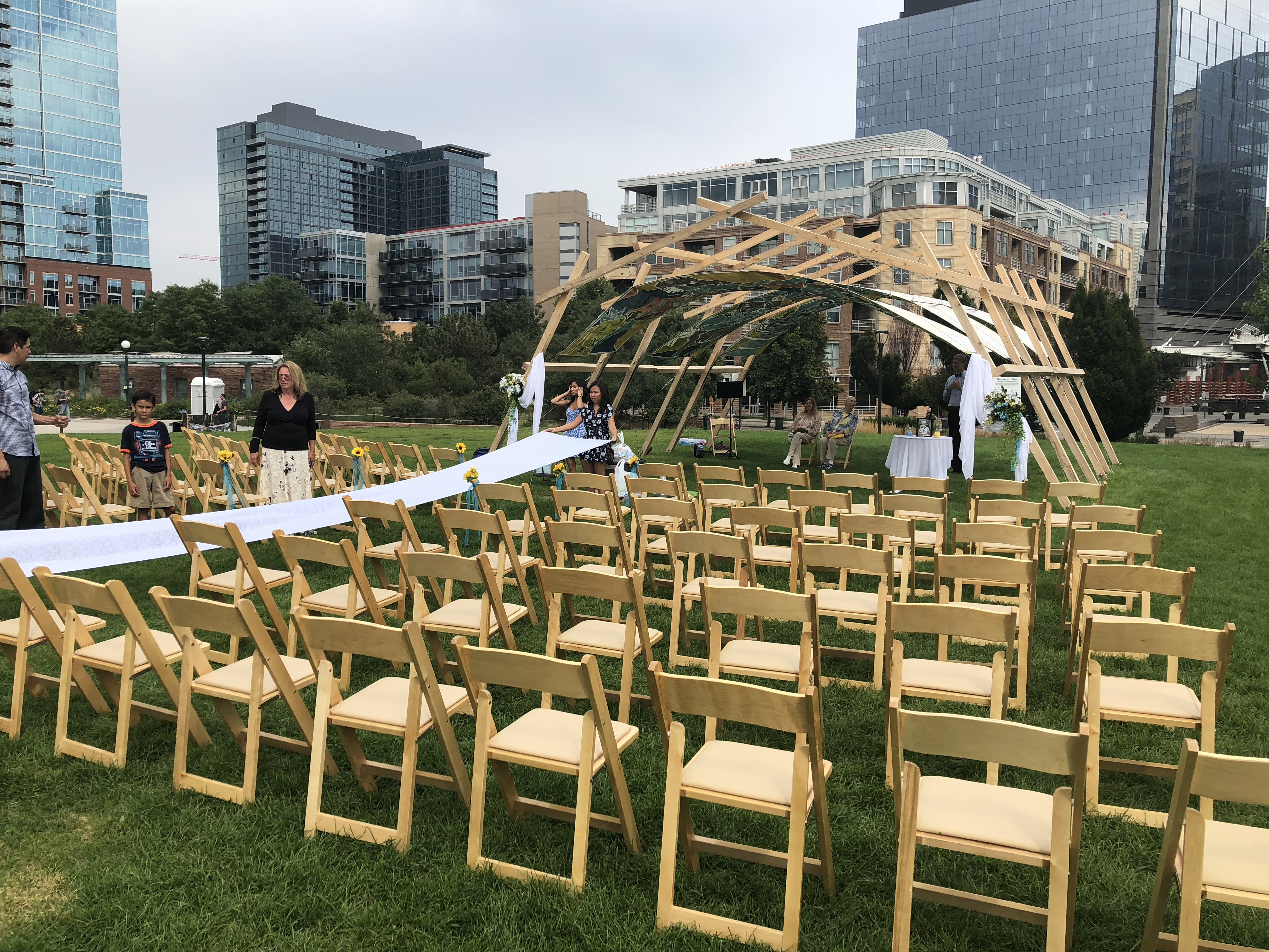 Denver Park Wedding