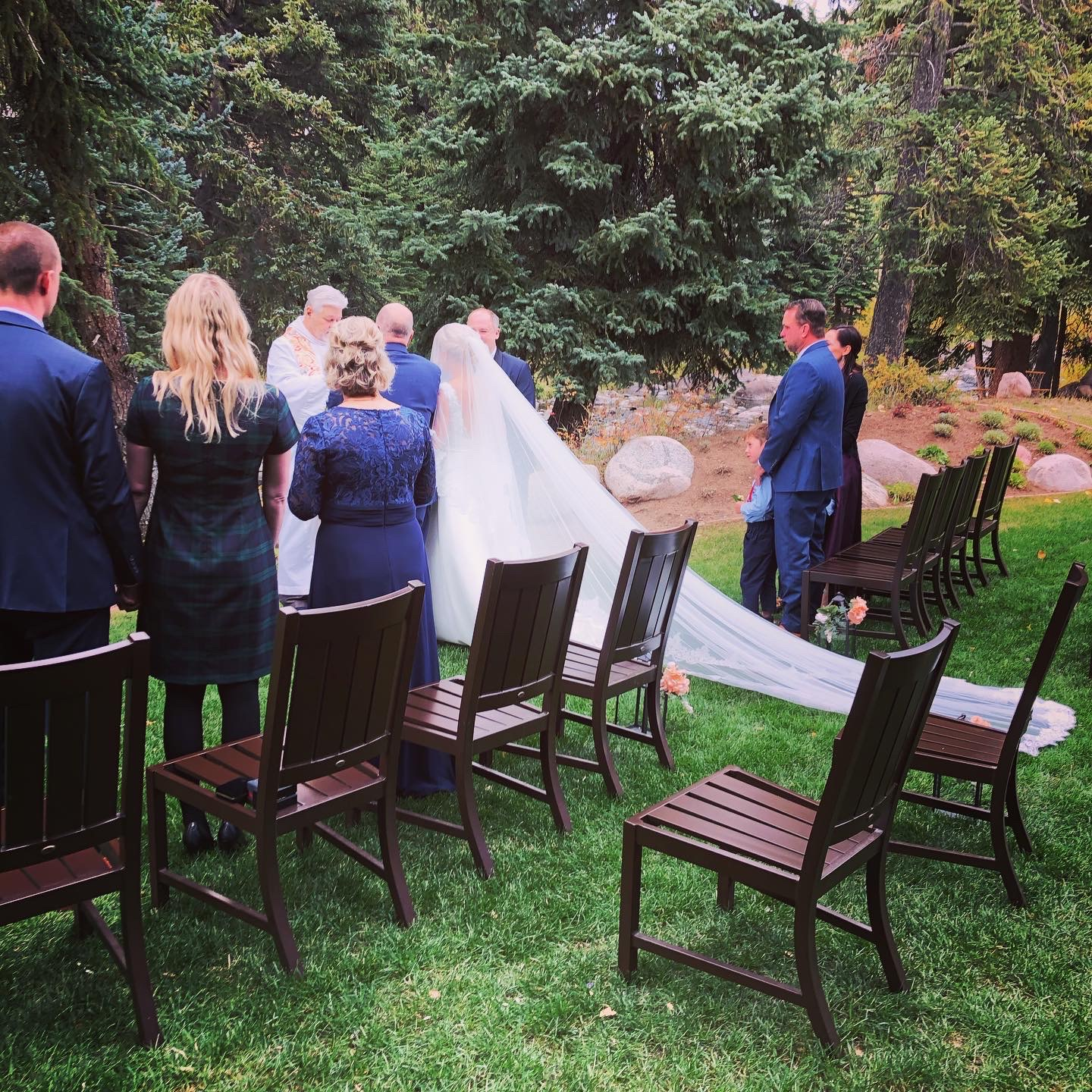 Beautiful Backyard Wedding in Vail