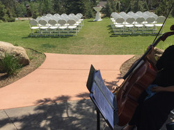 Wedding at the Stanley Hotel
