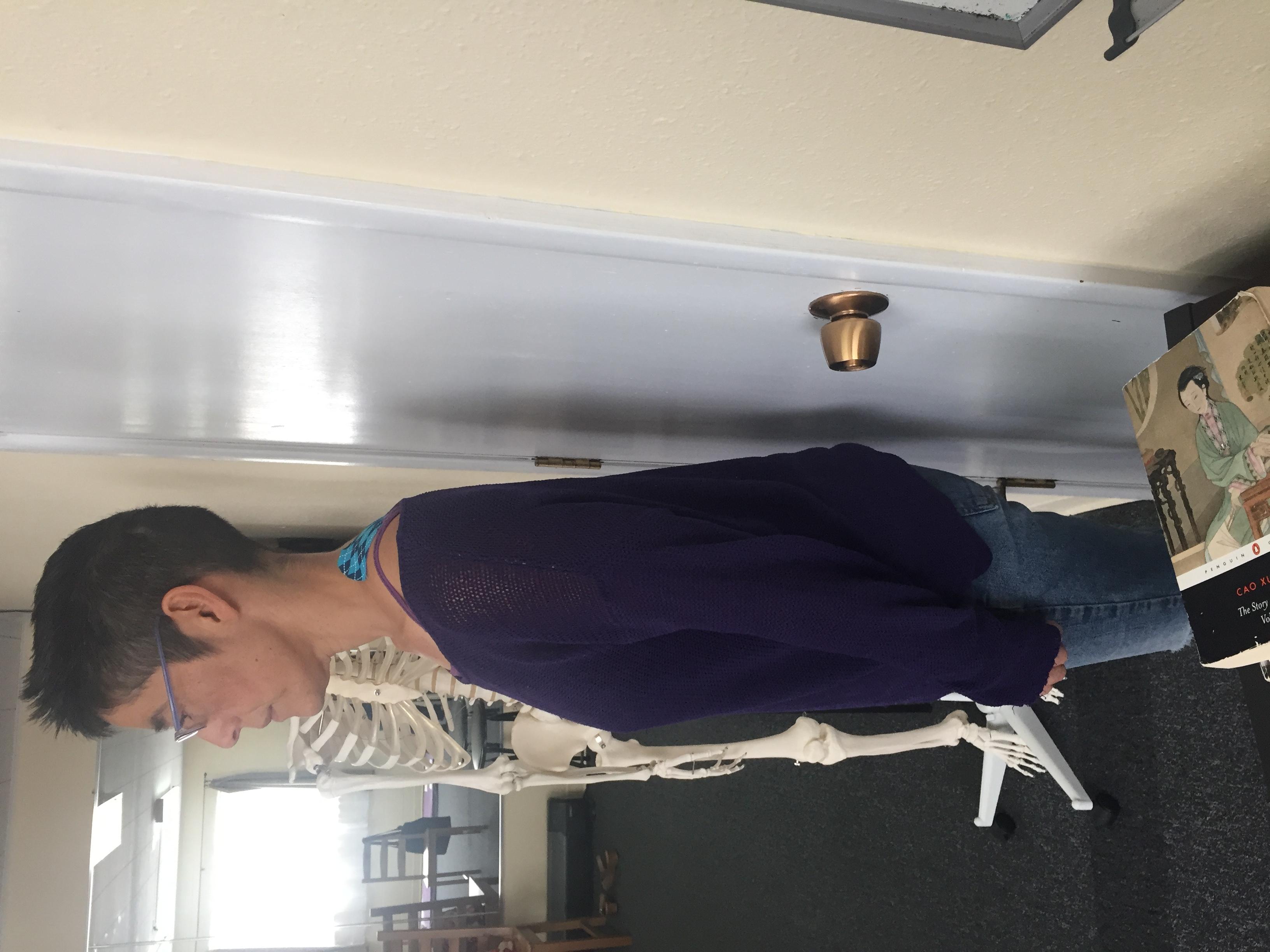 Alexander Technique wall Exercise