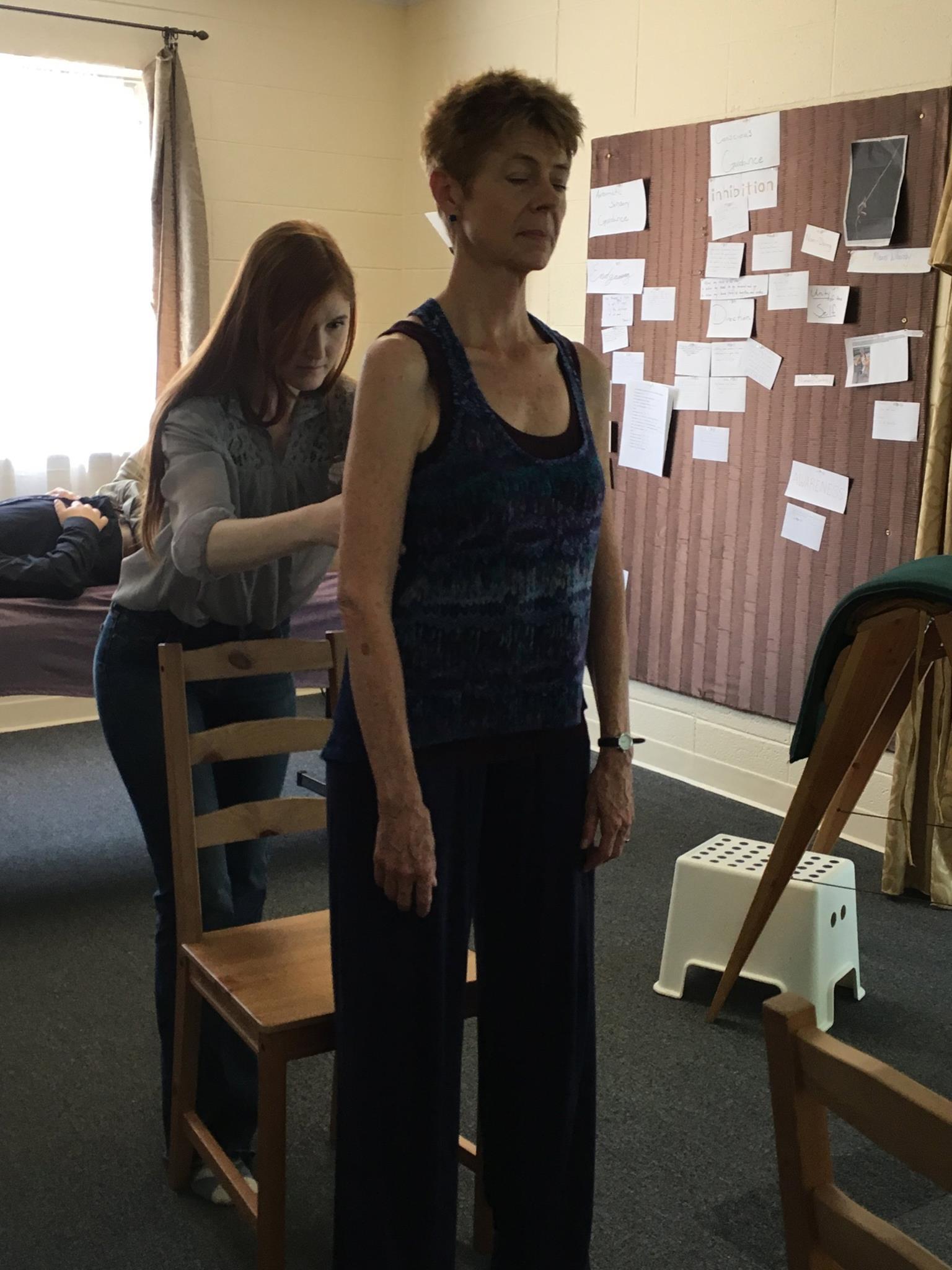 Nicole workin with Nada 2