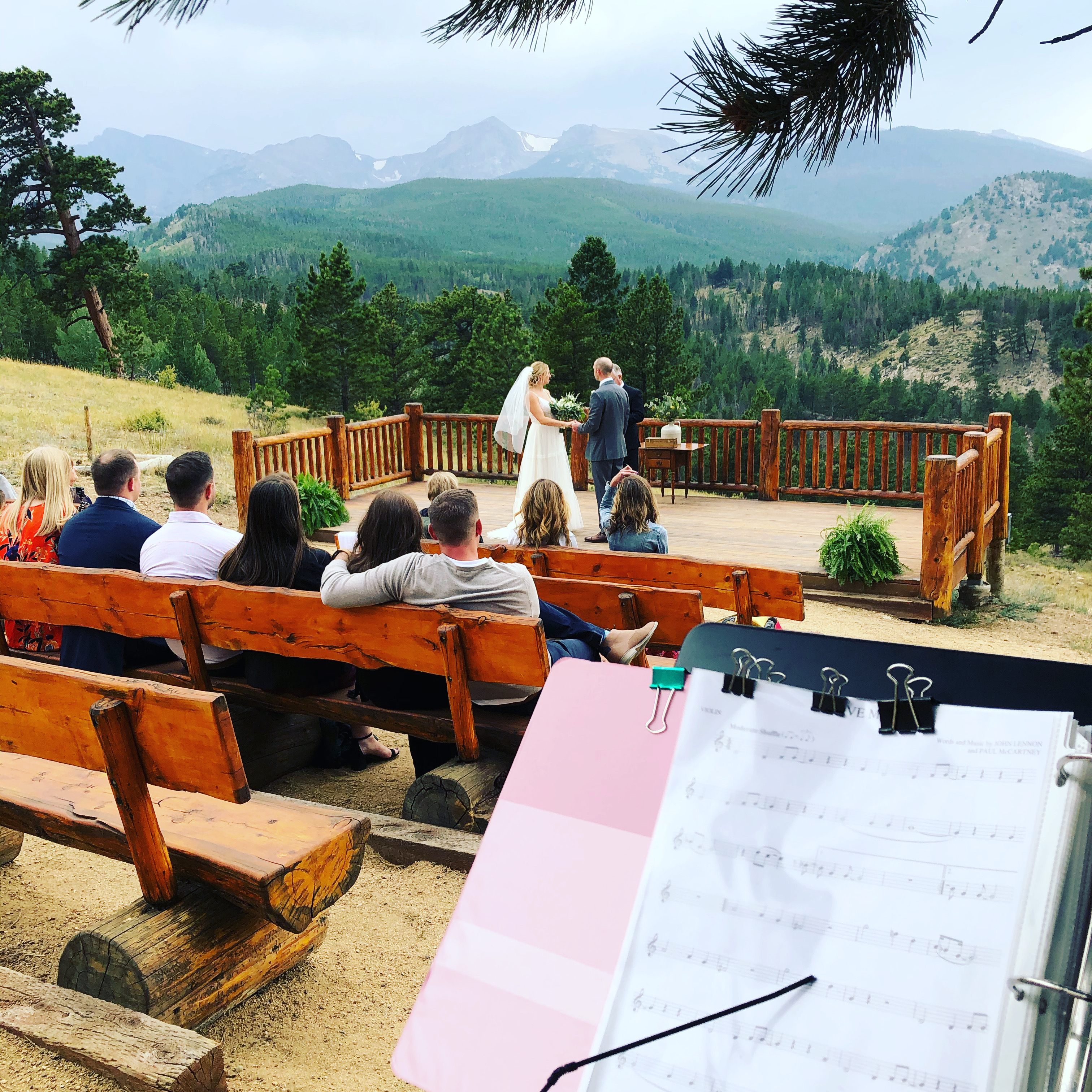 Estes Park Wedding at the YMCA