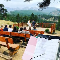 Estes Park Wedding at the YMCA