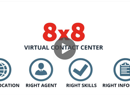 8x8 Virtual Contact Center: Your Contact Center in the Cloud