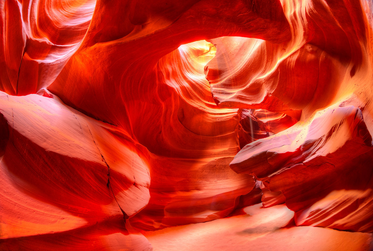 Antelope Canyon is the most photographed