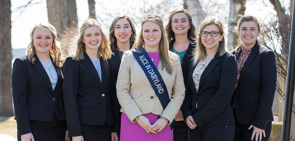 Walworth County Alice in Dairyland Top Candidates