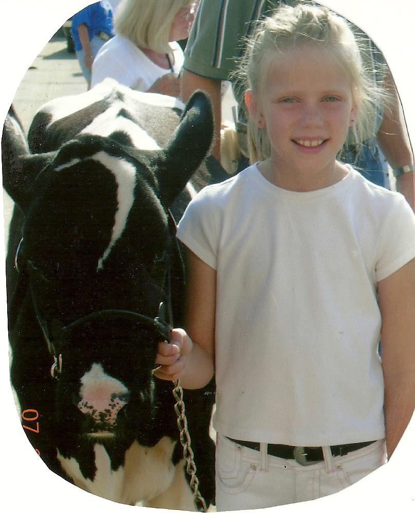 Abigail, Summer, Age 9