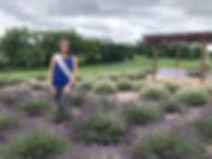Julia Nunes 73rd Alice in Dairyland New Life Lavender Farm