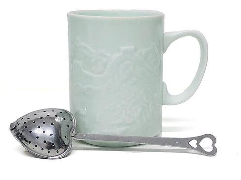 Heart Shaped Tea Strainer