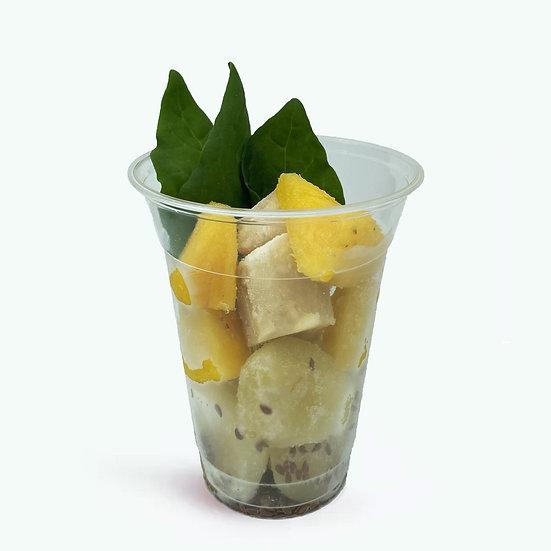 Refreshing Green - אגס, אננס, תרד, בננה, זרעי פשתן