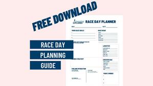 Free Download: Race Day Plan Worksheet!